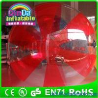 Buy cheap water zorb ball water polo ball inflatable ball water ball water walking ball from wholesalers