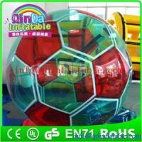 Buy cheap Super quality water bubble ball Inflatable water walking ball walk on water ball from wholesalers