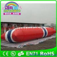 Quality Inflatable Aqua launch PVC inflatable water games inflatable water tower for sale