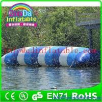 Quality inflatable water game jump water blob for water park theme inflatable jumping pillow for sale