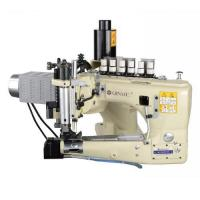 3 needle feed of arm denim jeans manufacture use juki sewing machine