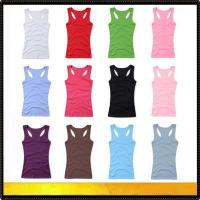 Quality Blank t-shirts New design ladies tank top for sale