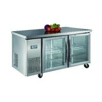 Quality Luxury project static cooling 03 table top refrigerator(glass door) for sale