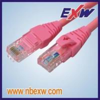 Quality Cat6 Patch Cord UTP Red LSOH for sale