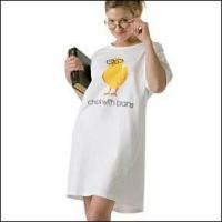 Chick with Brains Night Shirt, Geek Nightshirt for sale