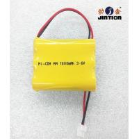 China NICD AA 1000mah 3.6V rechageable batteries pack on sale