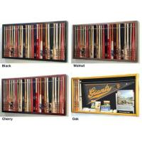 """Quality Mini 18"""" Baseball Bat Display Case Cabinet w/ UV Protection4 WOOD COLORS! for sale"""