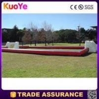 Buy cheap high quality durable inflatable football pitch for sale from wholesalers