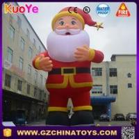 Buy cheap 13ft 16ft 20ft Commercial giant inflatable santa claus for display from wholesalers