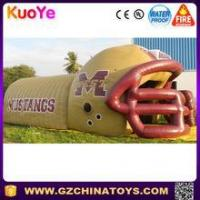 Buy cheap factory price popular inflatable football helmet tunnel rental from wholesalers