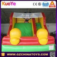 Quality 2016 guangzhou fantanstic inflatable bouncy mickey slide for rental for sale