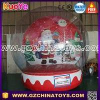 Quality 2016 guangzhou inflatable snow globe for christmas for sale