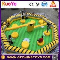 Quality inflatable wipeout course wipeout sweeper gamesfor sale for sale