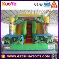 Buy cheap 2016 china small indoor inflatable jungle slide for children from wholesalers