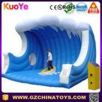 Quality inflatable mechanical surfing board mechanical surfboard ride for sale