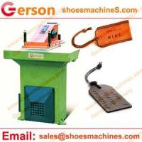 Quality Artificial Leather die cutting press for sale