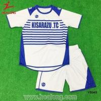 China Sublimation Custom Men's Cheap Soccer Uniforms Shirts on sale