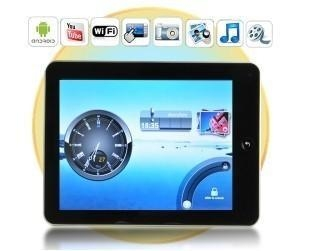 China 8 Inch Android 2.2 Tablet with Youtube, LAN, PDF, External 3G Tablet PC