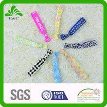 Buy Multiple Print Sublimation and Screen Printed Elastic Hair Band at wholesale prices