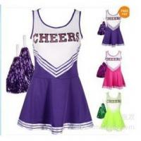 China Sexy Cheerleader Lingerie Dress with Hand Flowers on sale
