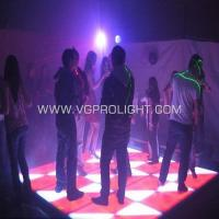 Quality 420 pcs RGB LED dance floor for sale