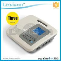 China ECG-C1103G Best Price 3 Channels CE Approved Digital Portable ECG Machine on sale