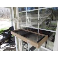 Quality Birds Choice Window Platform TRAY FEEDER 22x9 and ROOF KIT Recycled for sale