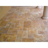 China Fench Pattern Gold Travertine for sale
