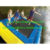 Quality water games amusement water park inflatable water trampoline-WG-012 for sale