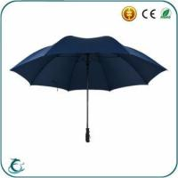 Popular brand fashion advertising windproof golf umbrella for promotion