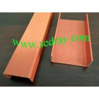 China GRP Pultrusion Profiles GRP Ladder Channel on sale