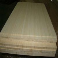 Quality Natural Colour and Vertical Pressed Bamboo Slabs as Furniture Facing for sale