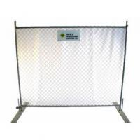Quality Hire - Diamond Mesh Temporary Fencing for sale