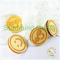 Quality engrave wood shapes veneer chip pieces for sale