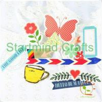 Quality scrapbook die cuts for sale