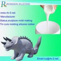 China Statue in gesso silicone molds for plaster statues mold making silicone mold on sale