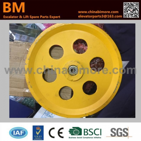 Buy Elevator parts Elevator Speed-Limited Tension Wheel at wholesale prices