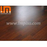 Surfaces 7mm 8mm squared edges 2 strips dark color real wood grain laminate flooring