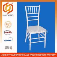 White Polycarbonate Plastic party wedding hotel Chiavari Chair