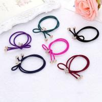 China Colorful Plastic Elastics Children's Kids Candy Color Rubber Band Girl Hair Accessories Headdress on sale