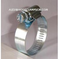 AT-02 Galvanized steel American type hose clamp