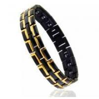 Buy cheap mens titanium magnetic bracelets from wholesalers