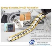 Quality bio titanium magnetic energy bracelet for men for sale