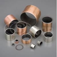 Buy cheap OOB-10 Steel + Bronze Powder + PTEE/fille Self-lubricating Bearing from wholesalers