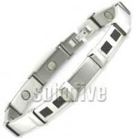 Buy cheap Magnetic Bracelet with Carbon Fiber Inlay 8 5/8 in (Standard) from wholesalers