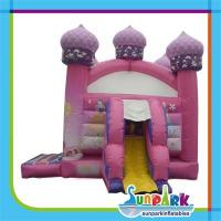 Pink Kids Party Bouncer