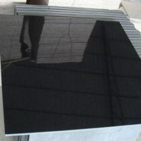 Granite Materials Absolute Black Granite Tiles for sale