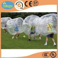 Quality Hot Selling Human Sized Soccer Bubble Ball/Inflatable Bumper Ball/Hamster Ball for Sale for sale