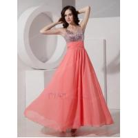 Buy cheap Best Straps Watermelon 2014 Prom Dress With Sequin Bodice from wholesalers