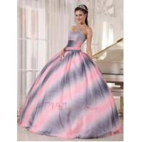 Buy cheap 2014 New Stylish Ombre Fading Color Chiffon Quinceanera Dress from wholesalers